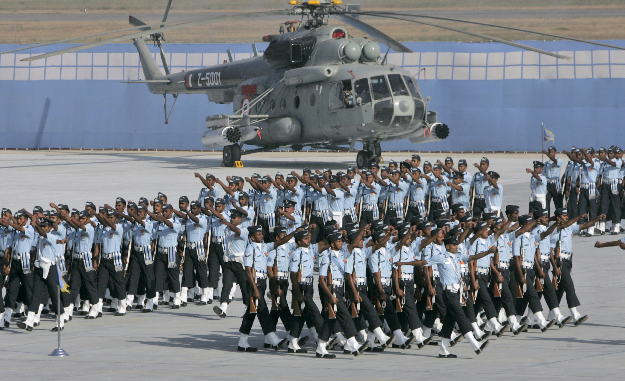 The latest version of India's Mi-17 is the V-5.