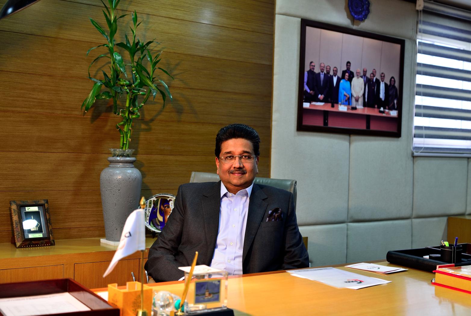 Harshavardhan Neotia, FICCI President.