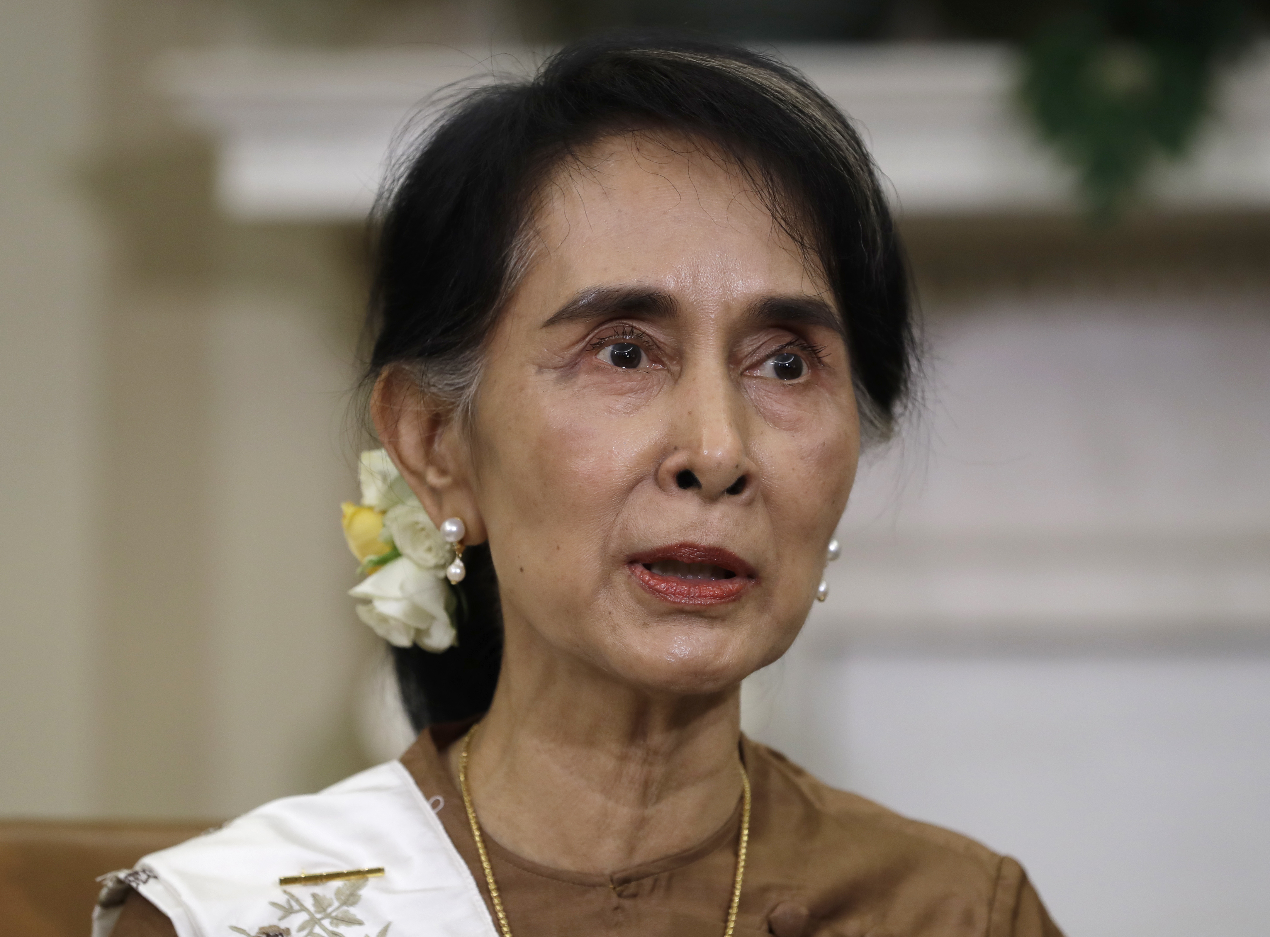 Aung San Suu Kyi is expected to hold bilateral talks with Narendra Modi and Vladimir Putin.