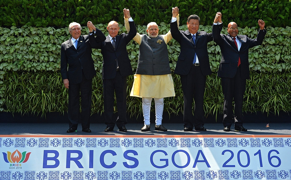 BRICS leaders in Goa.