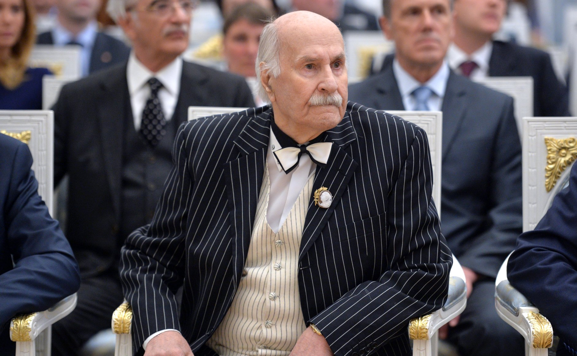 Vladimir Zeldin at an award ceremony in Moscow's Kremlin, 2015.