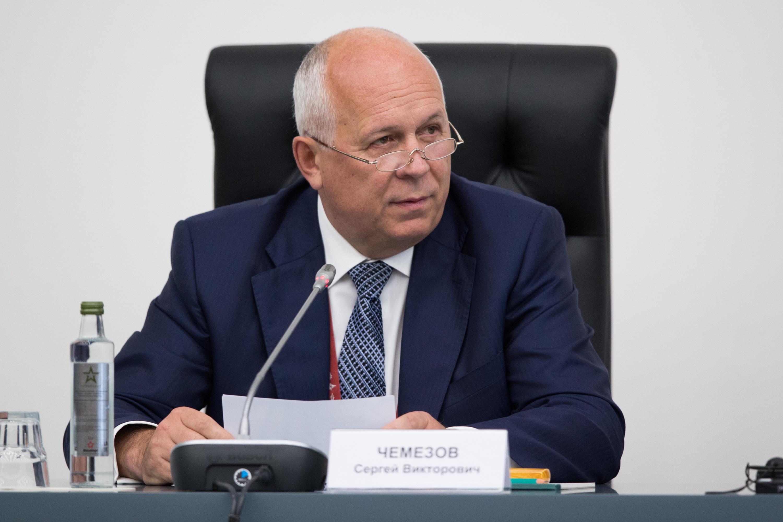 Sergei Chemezov, the CEO of Rostec.