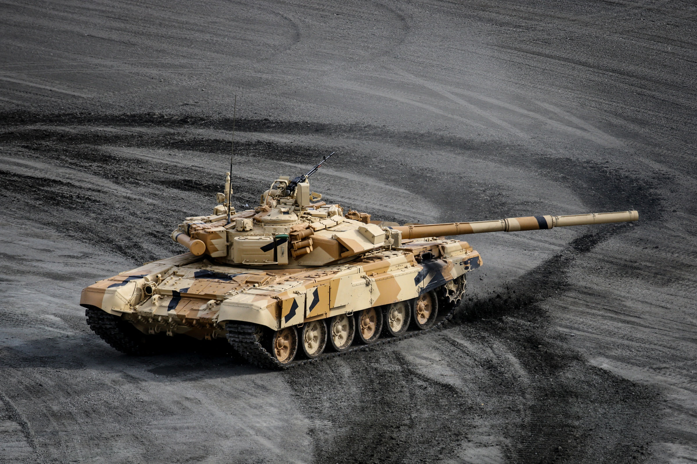 By 2020, India plans to induct more than 1,600 T-90 tanks.