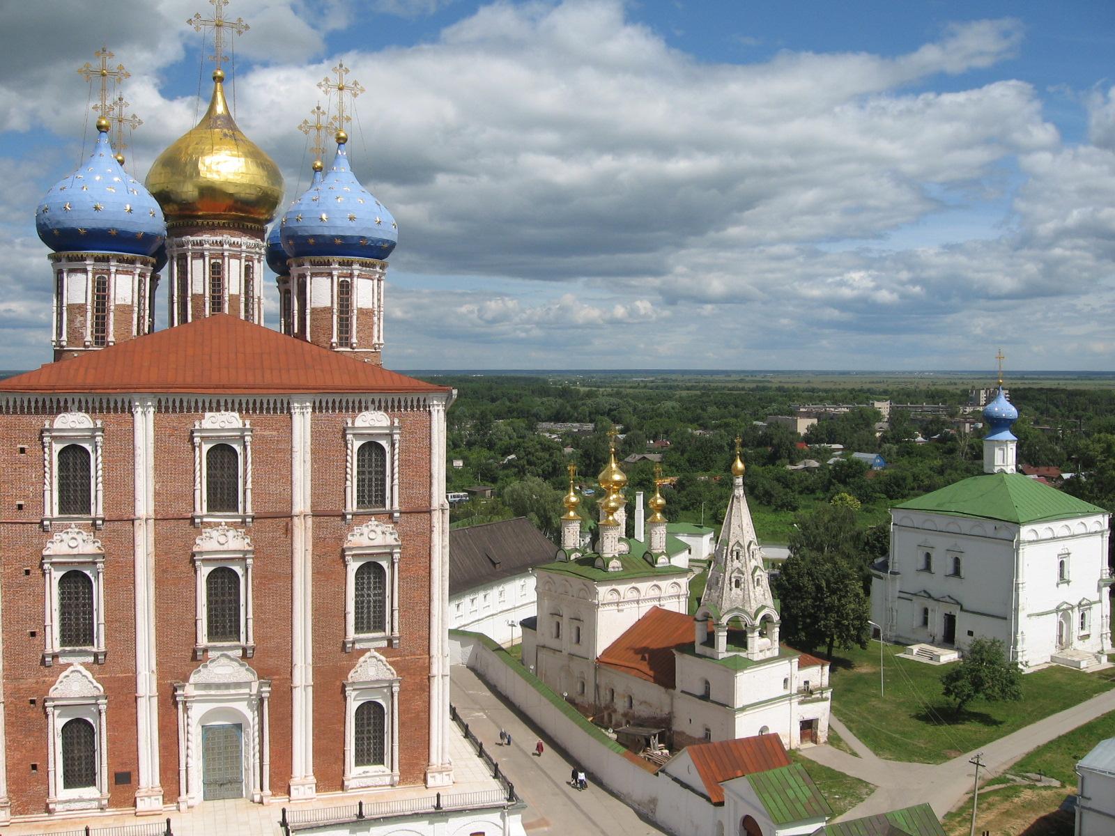 Uspensky Cathedral in Ryazan