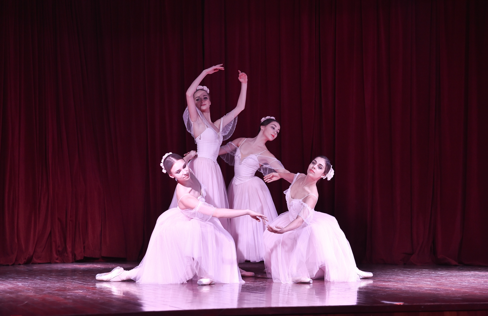 "The ballet ""Giselle"" was performed in New Delhi."