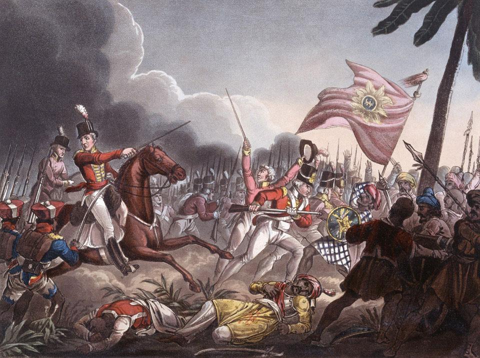 J.C. Stadler. Battle of Assaye (1815)