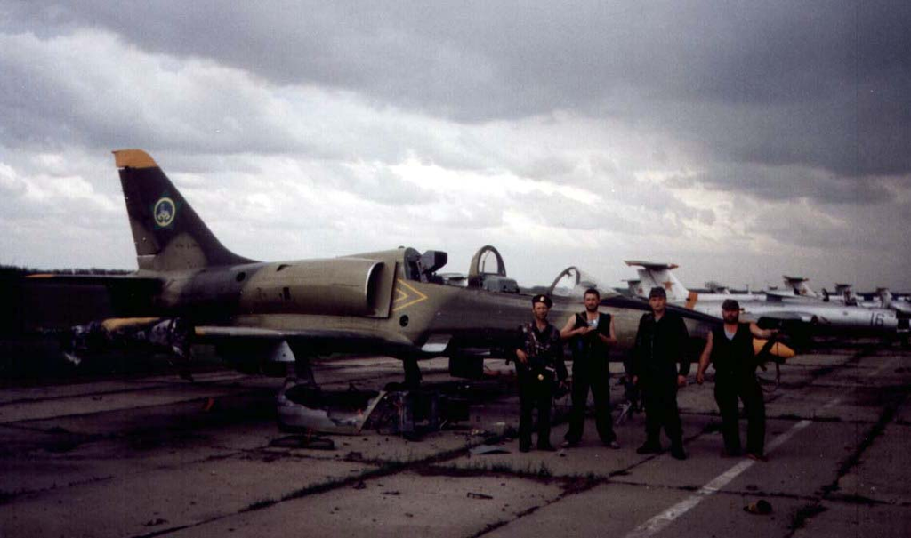 Chechen Air Force in 1994.