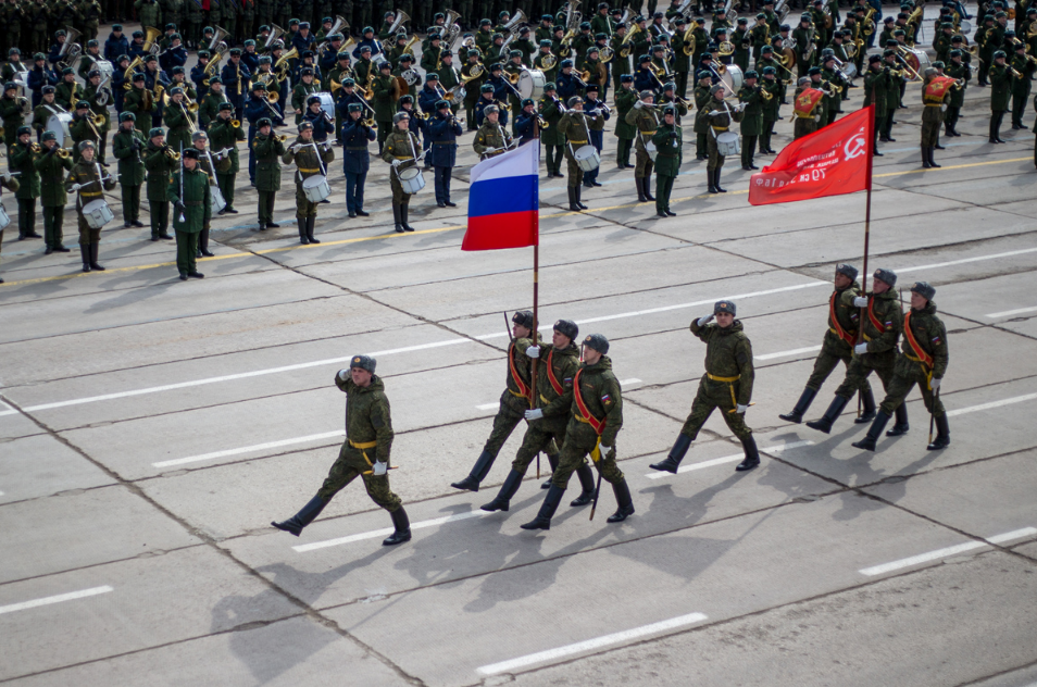 Victory Day Parade rehearsals have begun in the Moscow Region.