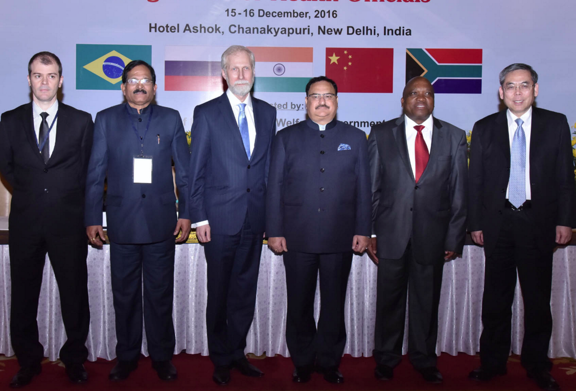 Meeting of senior health officials from the BRICS states.