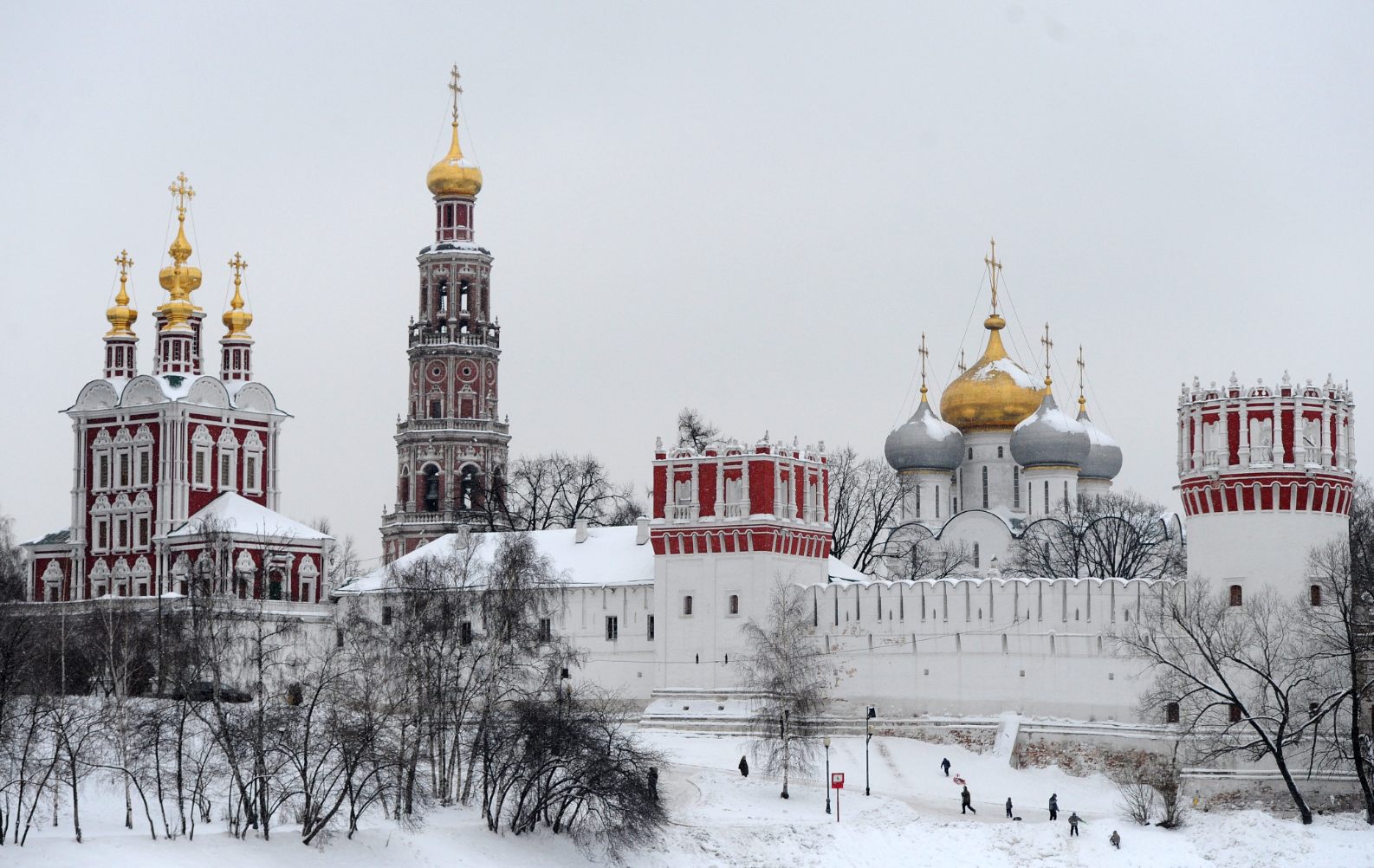 Novodevichy Convent in Moscow.