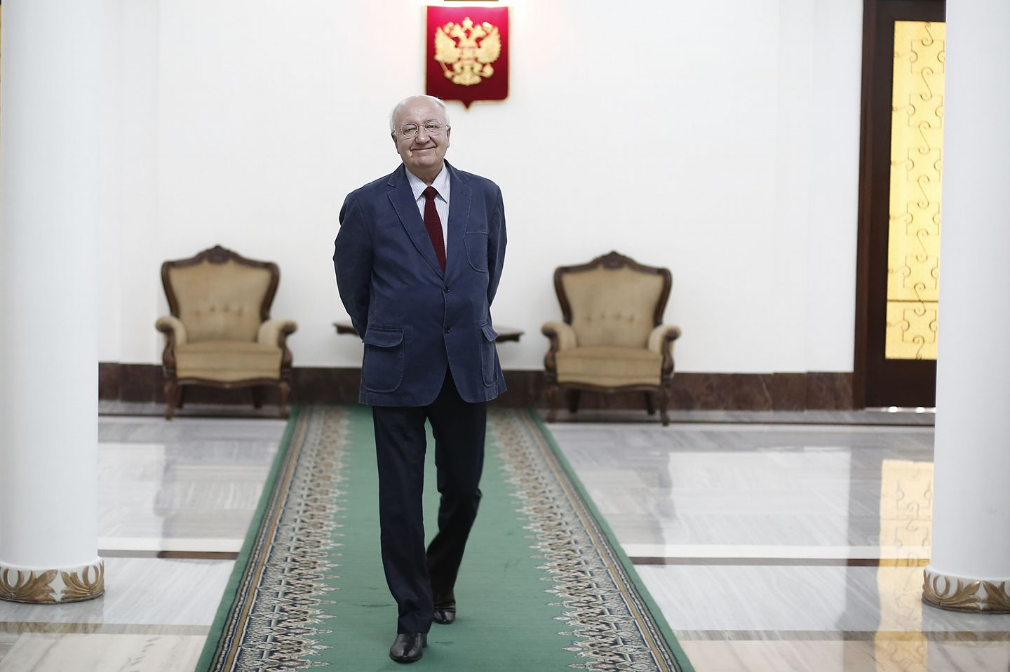 Russian Ambassador to India Alexander Kadakin passed away on the morning of Jan. 26. Source: Press Photo