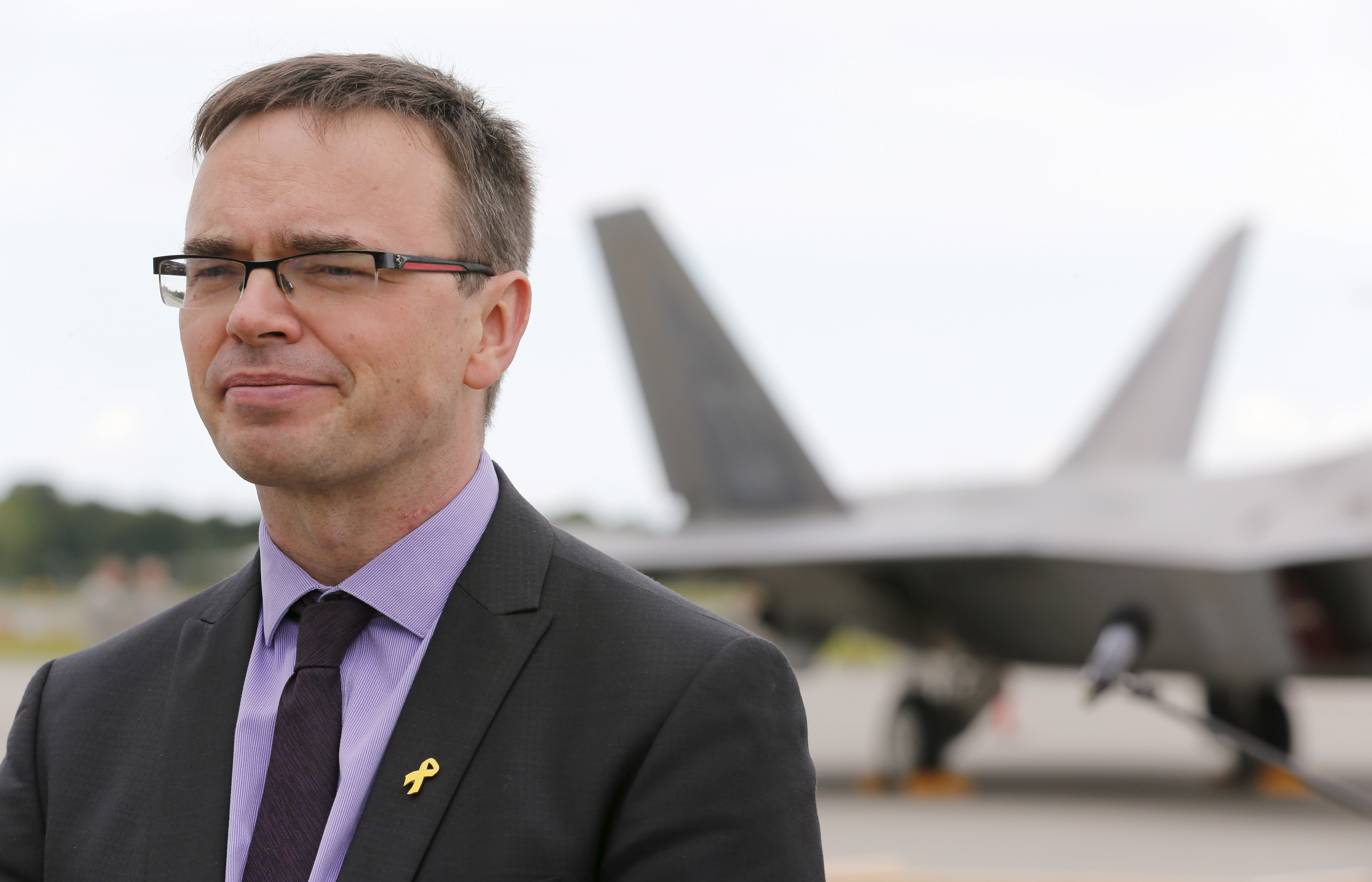Sven Mikser, Estonian Foreign Minister.