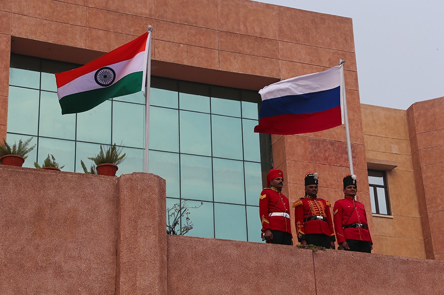 India and Russia are likely to provide innovative options to address different challenges this year. Source: mil.ru