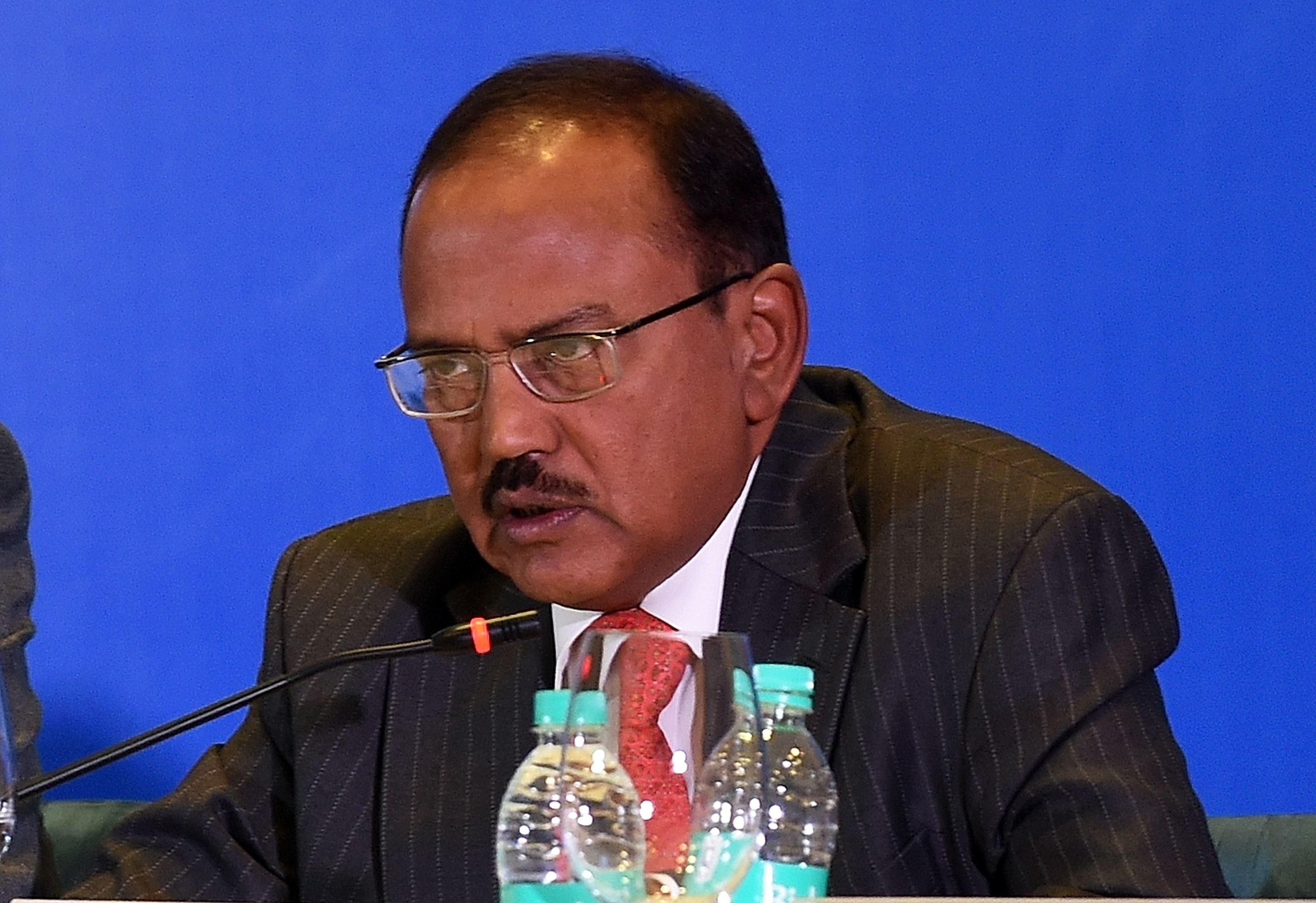Ajit Doval was in Moscow on Jan. 30-31. Source: AFP