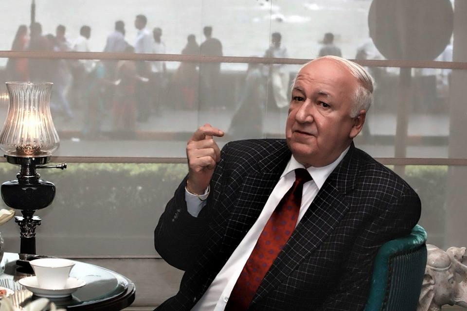 Russian Ambassador to India Alexander Kadakin passed away in New Delhi on Jan. 26, 2017. Source: Russian Embassy in New Delhi