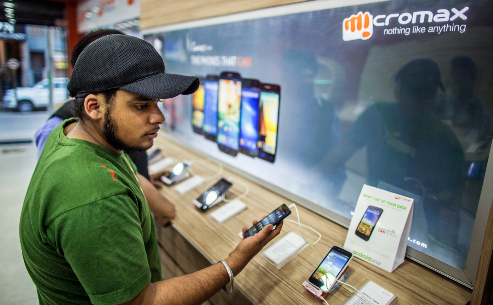 India's Micromax has managed to succeed in the competitive Russian market. Source: Getty Images