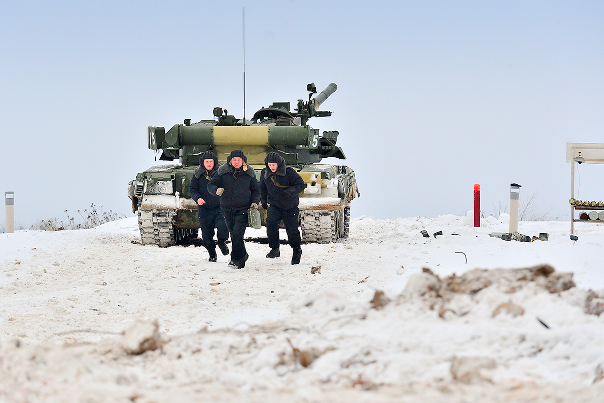 Kantemirovskaya is always on standby mode for combat. Most of its equipment and manpower are on alert all the time.