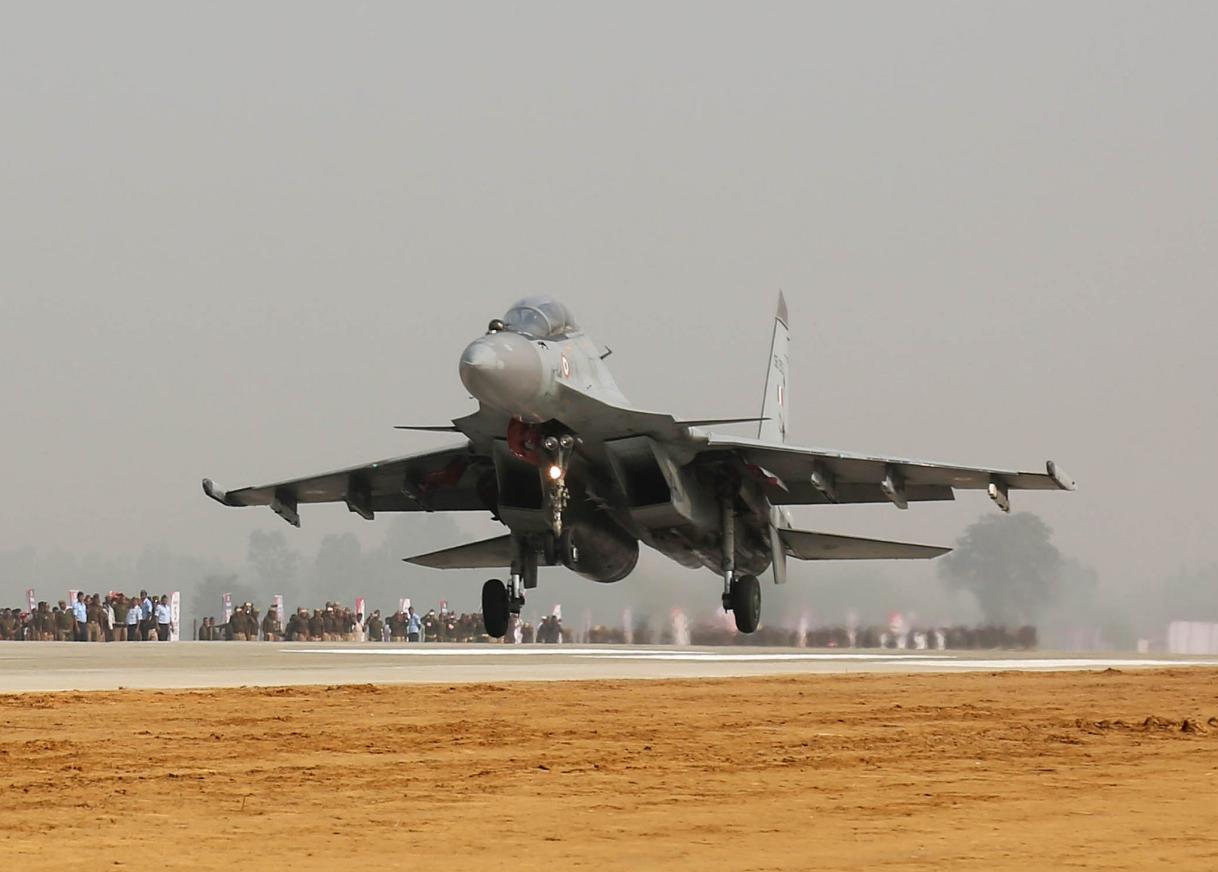 IAF Su-30. Source: twitter@IAF_MCC