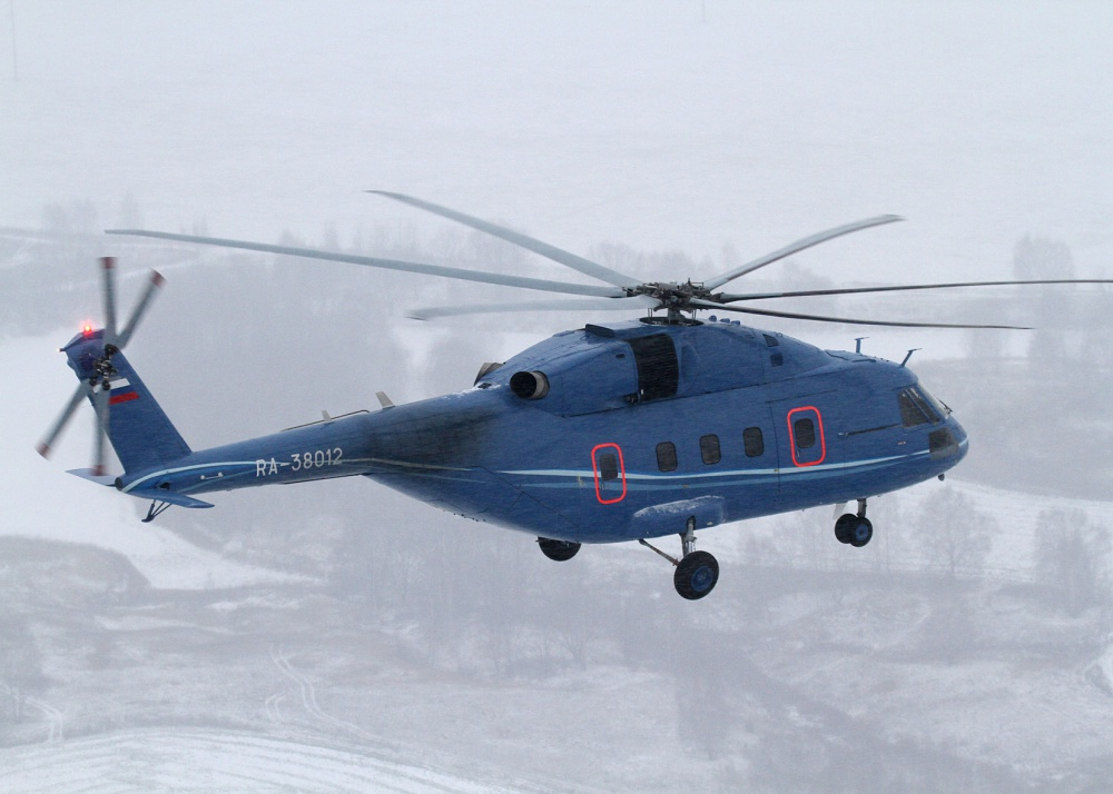 Mi-38. Source: Russian Helicopters
