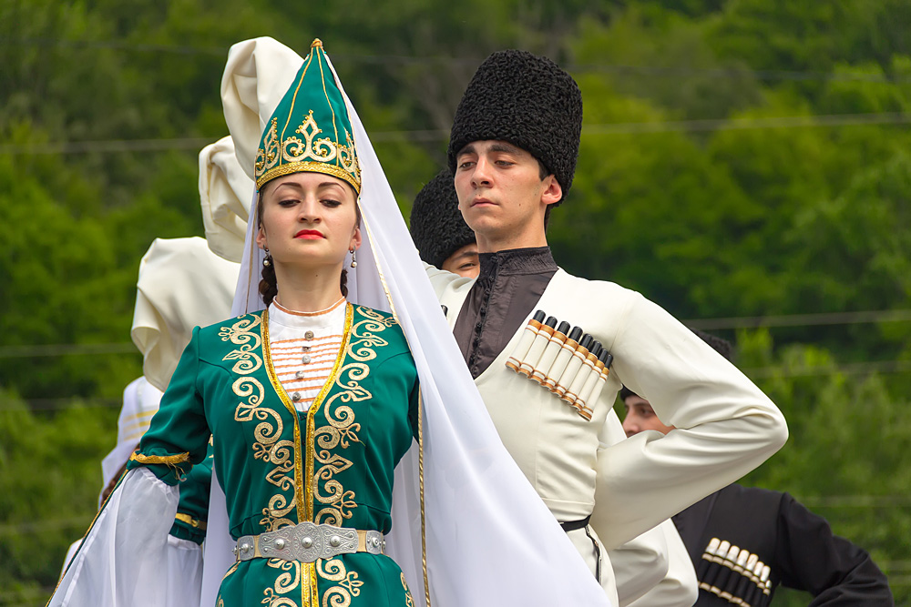 People of Adygea in traditional dress. Source: Lori/Legion-Media