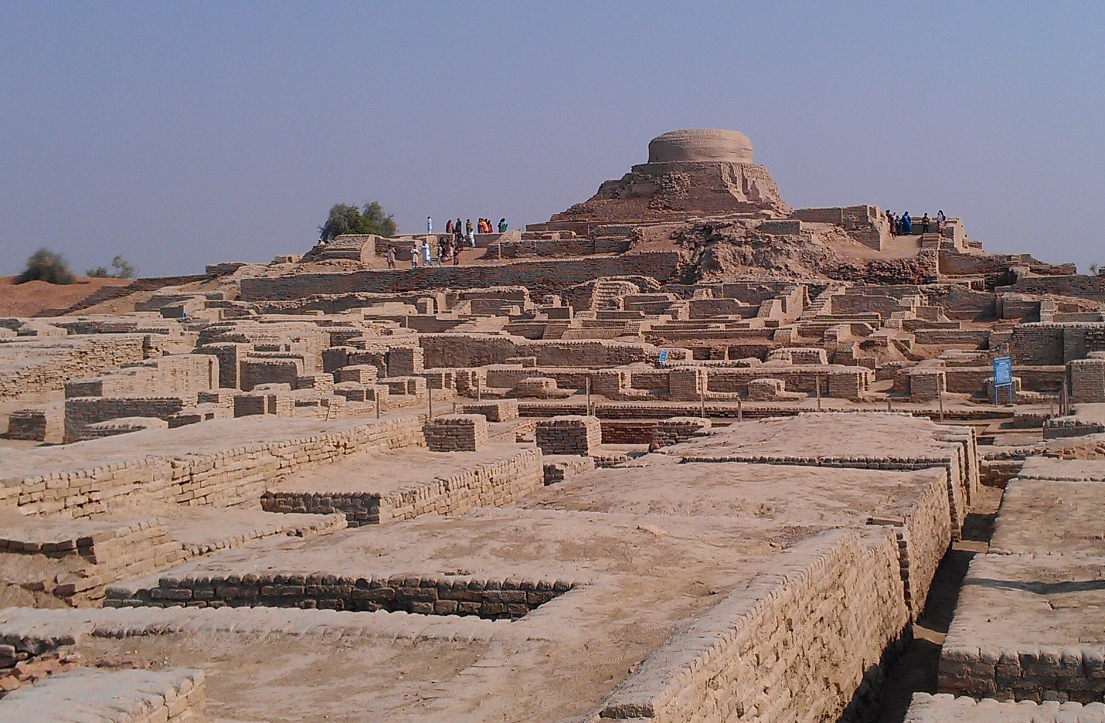 Indian civilisation can be traced to at least 5000 years. Pictured above are the Harappan ruins in Mohenjo Daro. Source: wikipedia