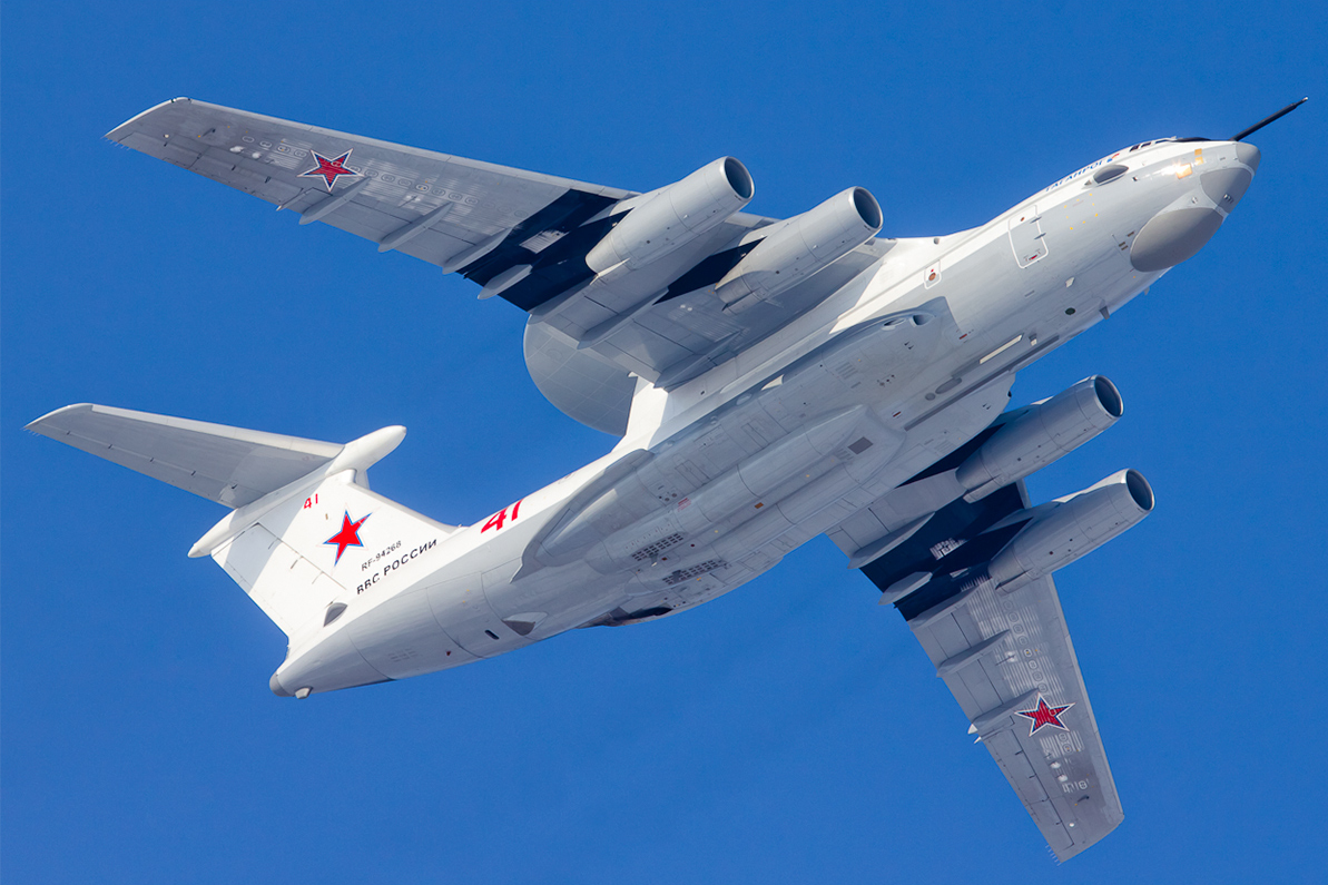 A-50 is used for detection and tracking of air targets and surface ships and alerting military command of air and surface threats.