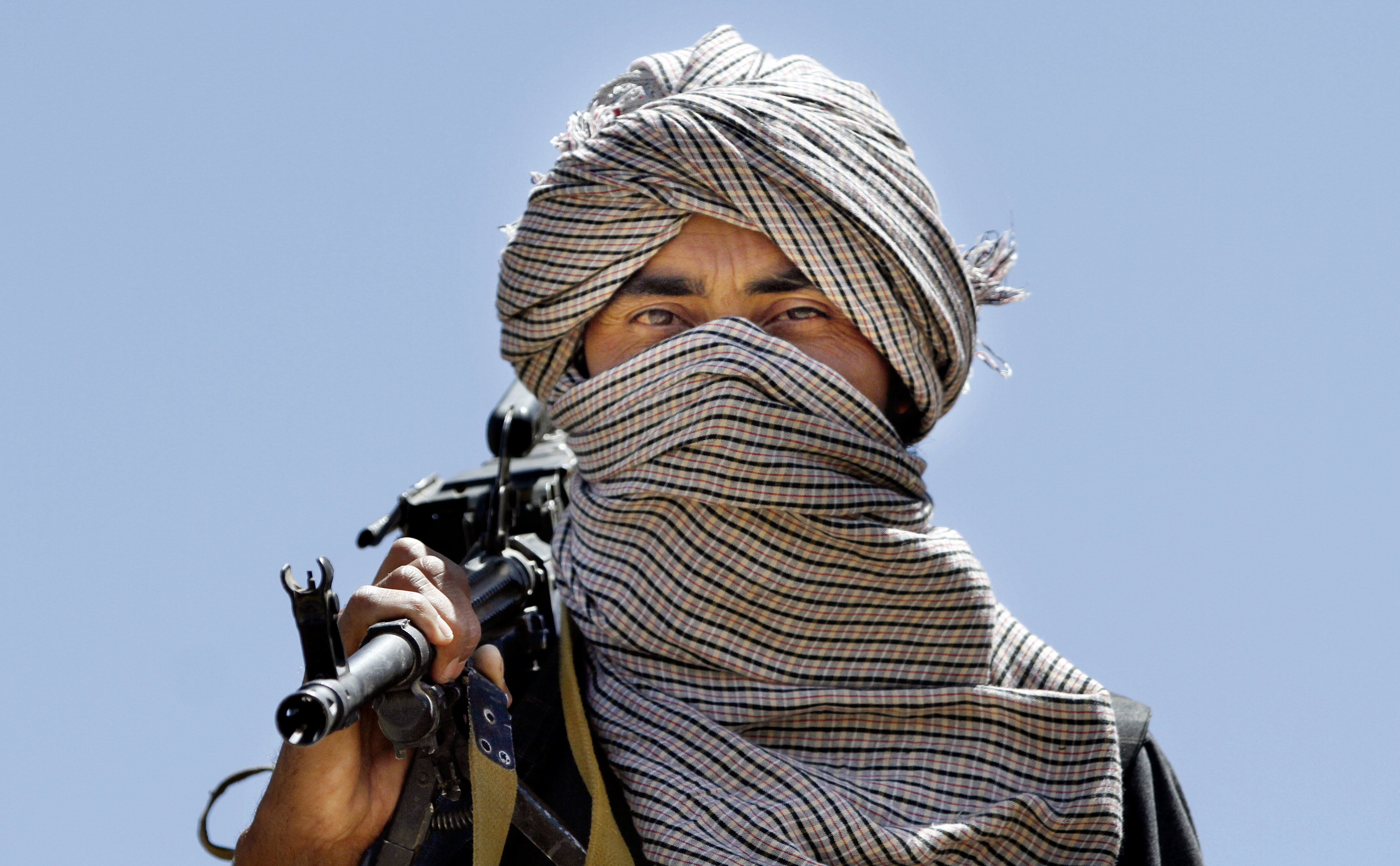 The Taliban is considered a terrorist group by Russia. Source: AP