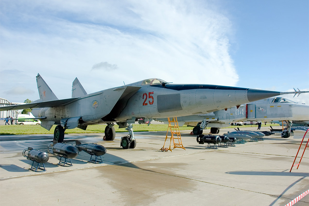 The MiG-25 was Russia's secret weapon against American bombers. Source: Dmitry A. Mottl / wikipedia