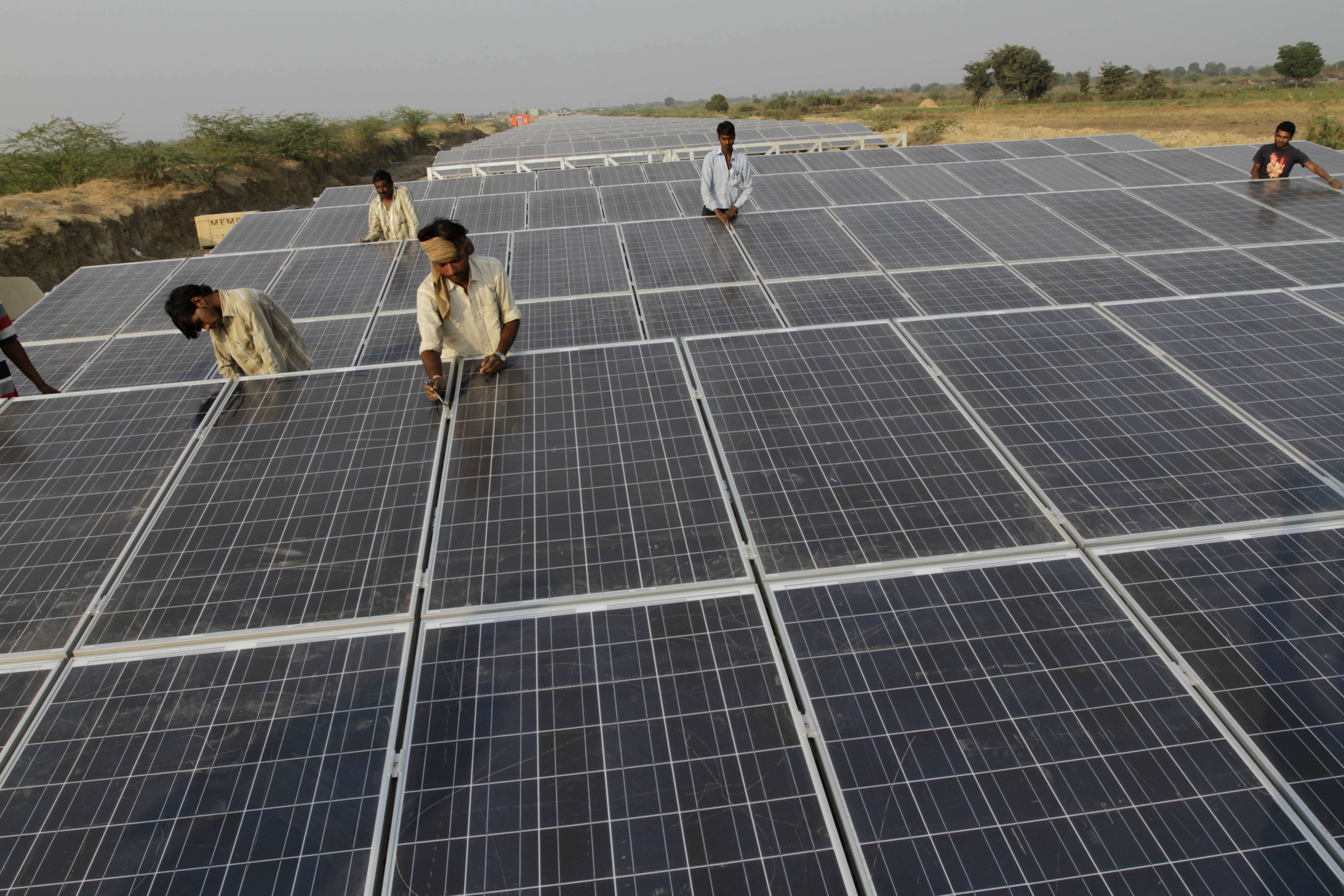 Russia is looking to make major inroads into India's solar energy sector. Source: AP