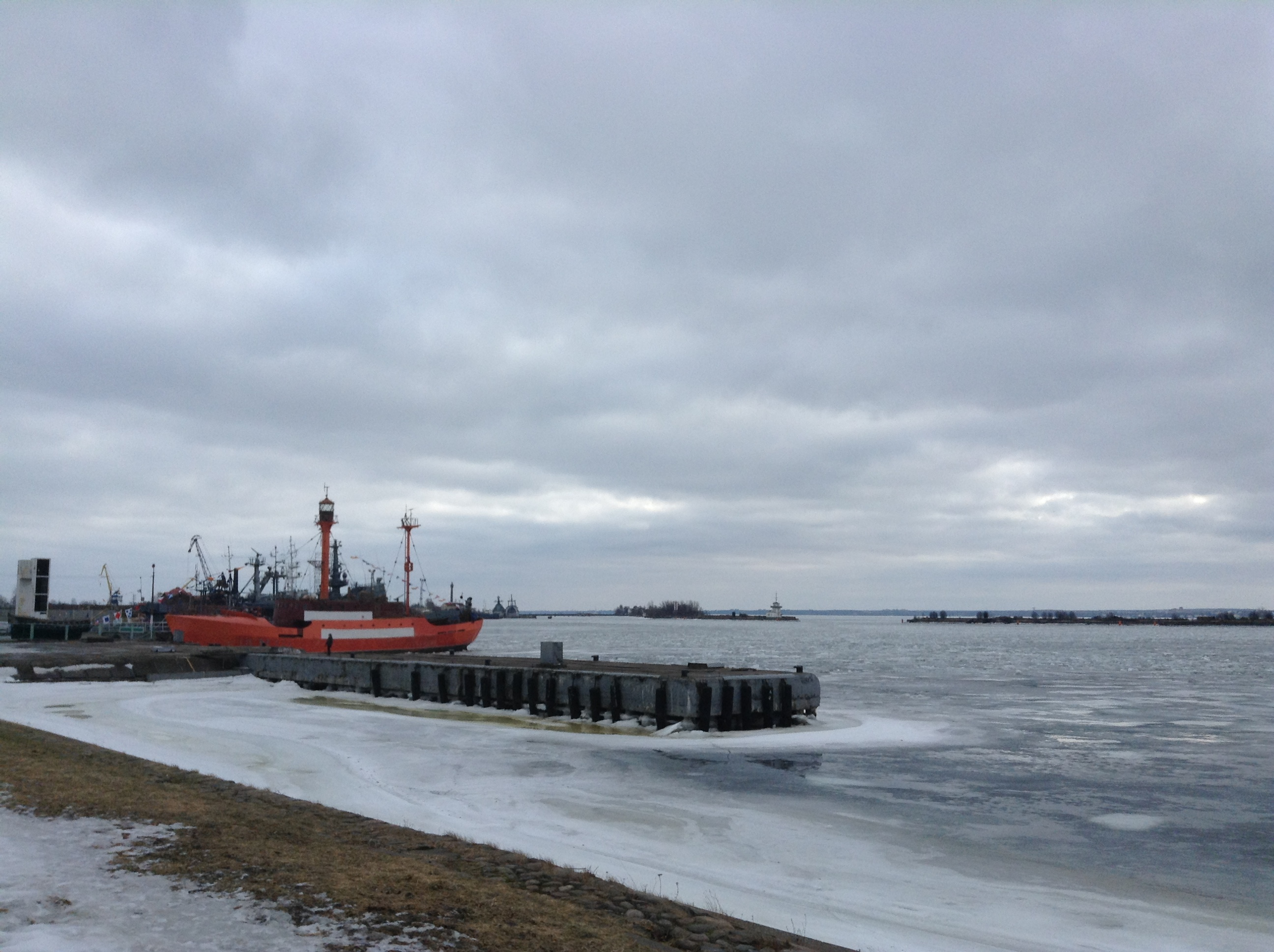 The icy shore of the Gulf of Finland. Source: Ajay Kamalakaran