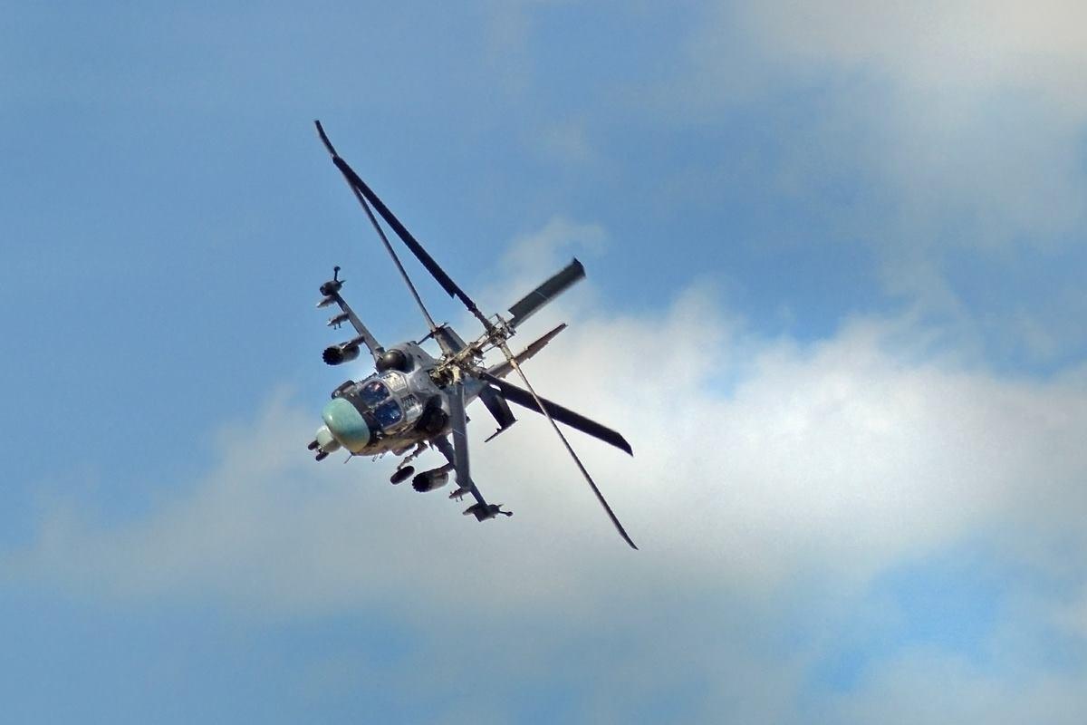 Berkuts adalah satu-satunya tim aerobatik di dunia yang menggunakan helikopter tempur.