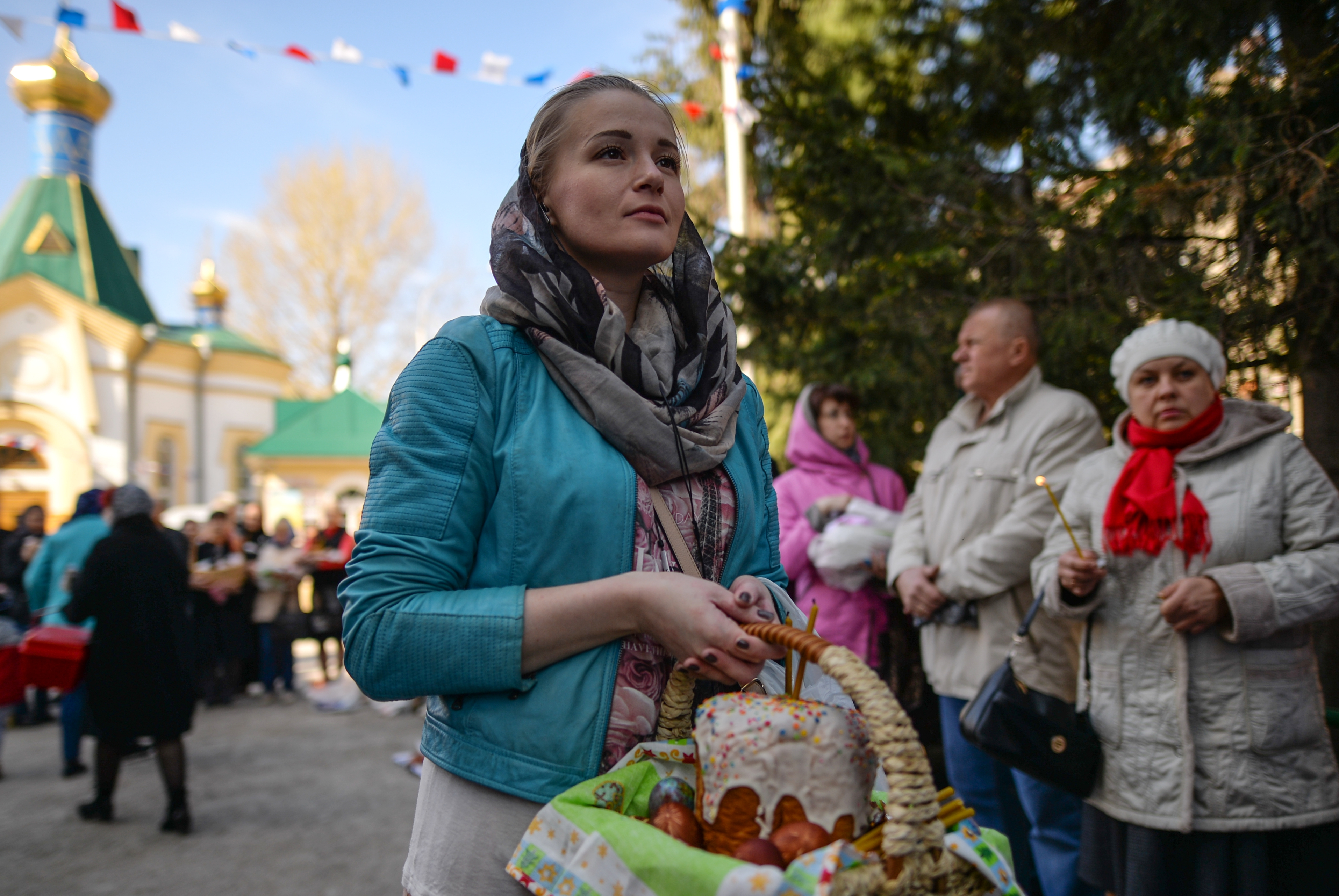 A growing number of young Russians find religion appealing. Source: Alexandr Kryazhev/RIA Novosti