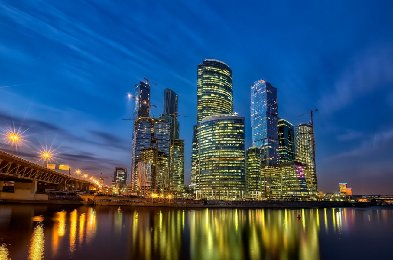 The Moscow City complex represents the new face of Russia. Source: Alexander Novikov/Global Look Press