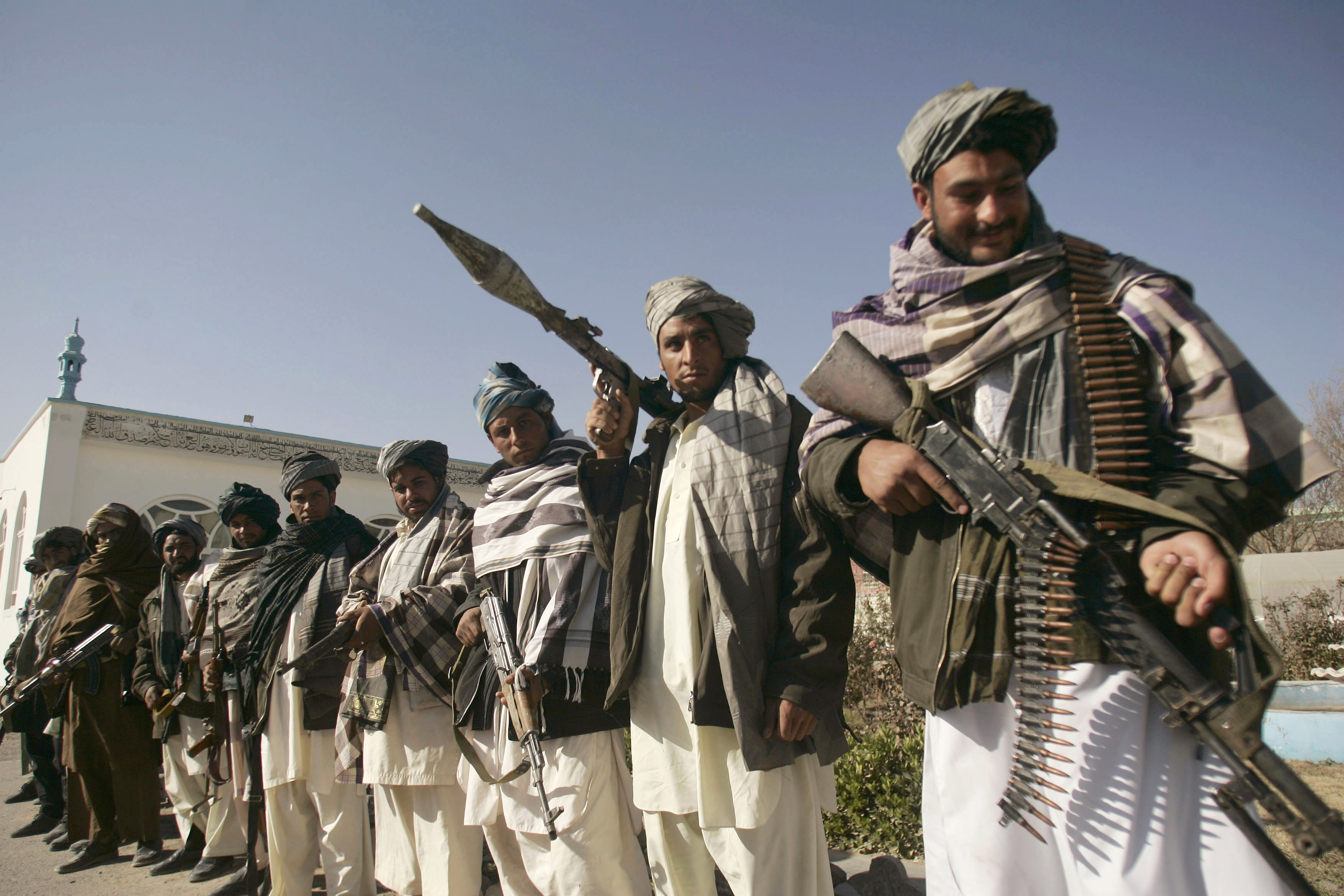 Russia is believed to have limited contacts with the Taliban. Source: AP