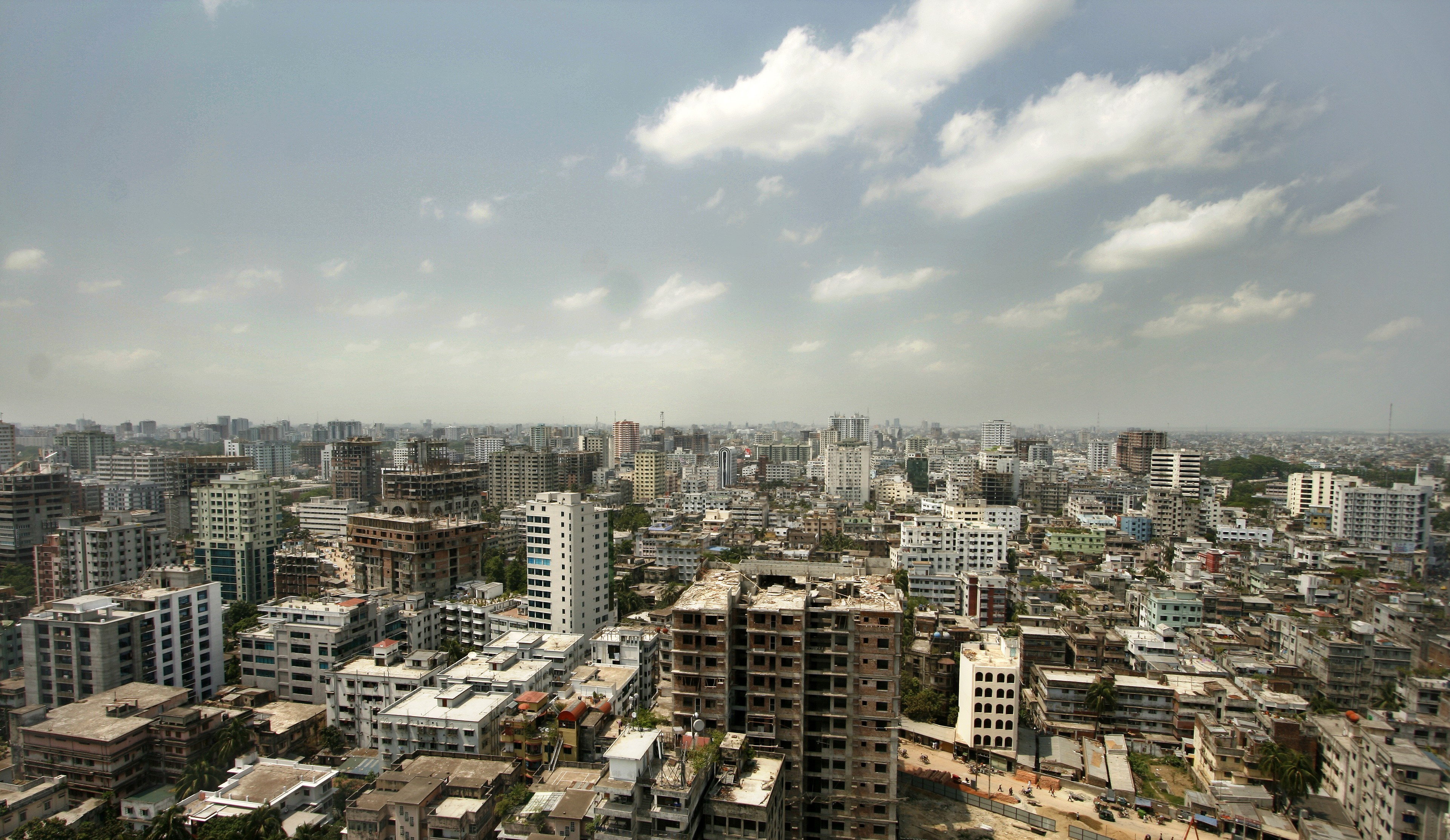 Skyscrapers in Dhaka. Bangladesh is one of the fastest growing economies in Asia. Source: Getty Images