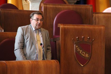 Yuri A. Petrov, direttore dell'Istituto di Storia russa dell'Accademia delle Scienze di Russia a Mosca (Foto: ufficio stampa)