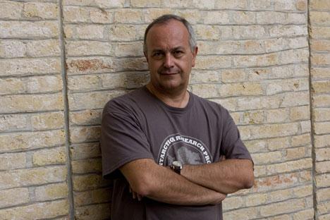 Lo scrittore Tullio Avoledo (Fonte: archivio personale)