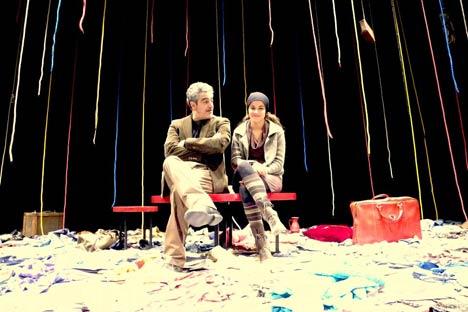 """Una scena dello spettacolo """"Una cena armena"""" (Foto: Ufficio Stampa)"""