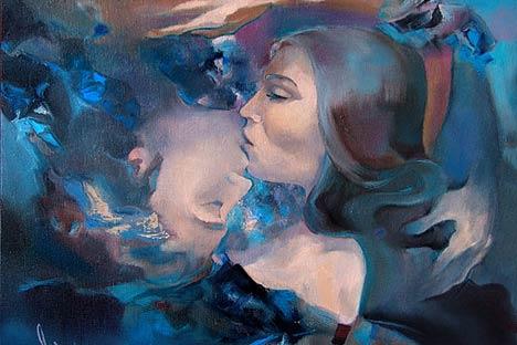 Un'opera dell'artista Elena Shefer (Foto: Ufficio Stampa)
