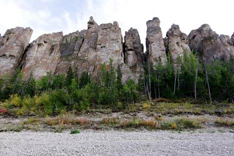 Le Colonne di Lena in Siberia (Foto: Ria Novosti)