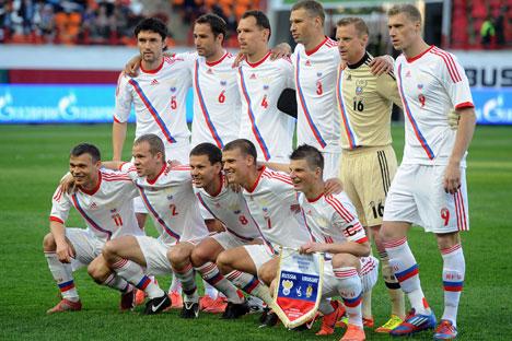 La Nazionale russa (Foto: Itar-Tass)