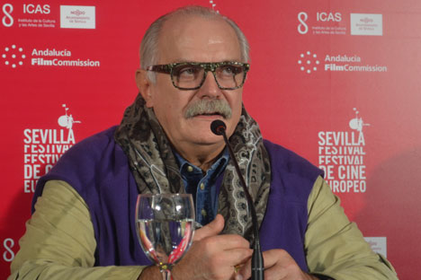 Il regista Nikita Mikhalkov (Foto: Maria Serrano)