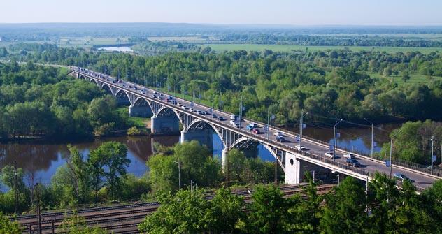 Ponte sulla Kliazma, un ponte nella regione di Vladimir (Foto: Lori/Legion Media)