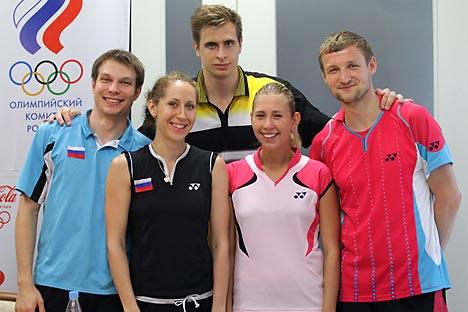 La Nazionale russa di badminton (Foto: Evgeny Biyatov/Ria Novosti)