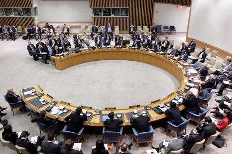 Il Consiglio di Sicurezza dell'Onu (Foto: Reuters/Vostock Photo)