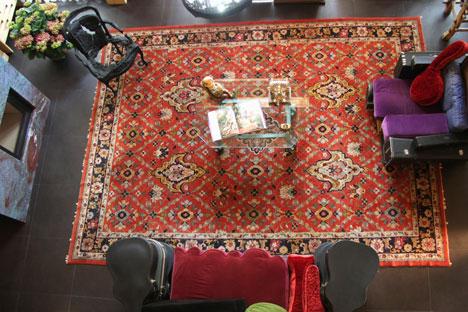 Un tappeto per arredare il salotto (Foto: Itar-Tass)