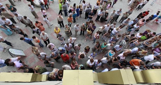 Immigrati dall'Est della Russia e dalle regioni più remote del Paese si trasferiscono nei grandi centri per lavoro (Foto: Gleb Kotov / RIA Novosti)