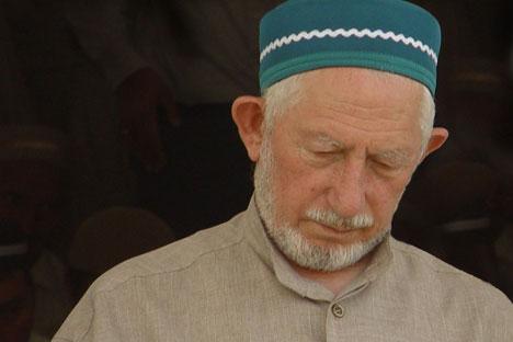Lo sceicco Said Afandi, leader dei musulmani del Daghestan, vittima di un attentato (Foto:Ufficio stampa)