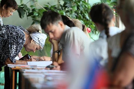 Dopo le elezioni della Duma locale nella regione del Ryazan, si accende il dibattito sul'accesso degli osservatori (Foto: RIA Novosti / Alexey Malgavko)