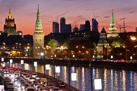 Una veduta del centro di Mosca (Foto: Reuters/Vostock Photo)